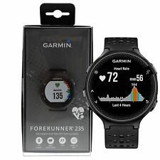 Garmin Forerunner 235 GPS Running Watch w/ Wrist-based HRM Monitor - Black/Gray