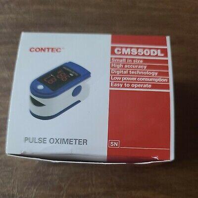 Nib Contec Cms50d Fingertip Pulse Oximeter Small Size High Accuracy