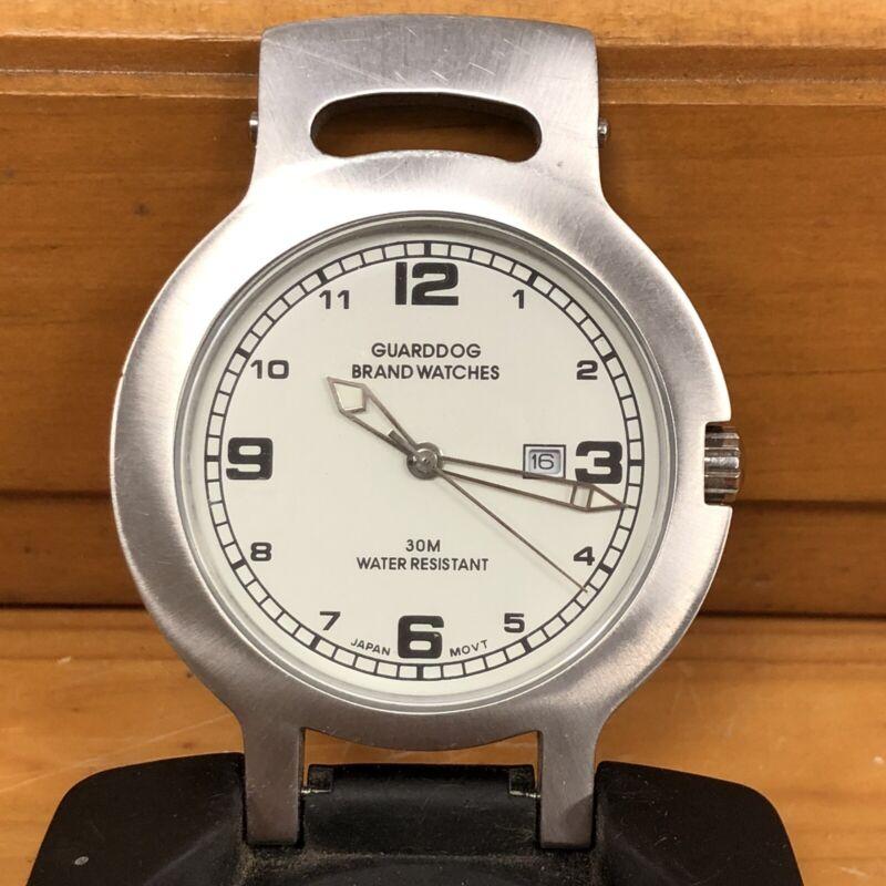 Vintage Guarddog Brand Clip-on Belt Watch