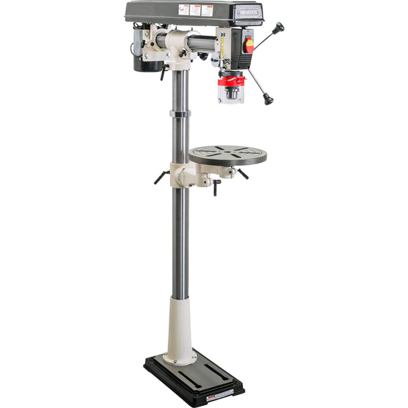 Shop Fox Radial Drill Press - 1/2 HP, Model# W1670