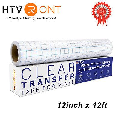 Blue Grid Transfer Tape Roll 30x365cm Craft Application Transfer Paper Cricut