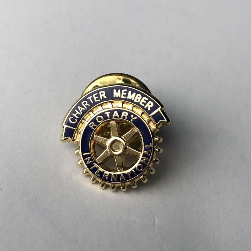 Rotary International Pin    CHARTER MEMBER