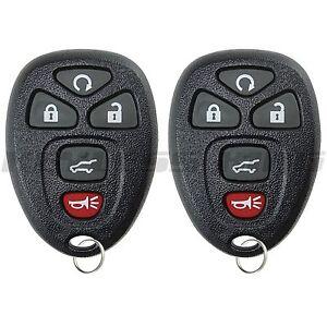 2 new remote start suv keyless entry key fob clicker. Black Bedroom Furniture Sets. Home Design Ideas