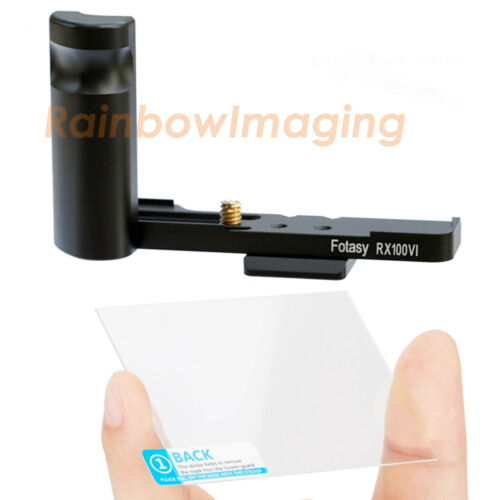 Arca QR Alumnium Hand Grip Holder Glass LCD Protector Sony RX100 VI V IV III II