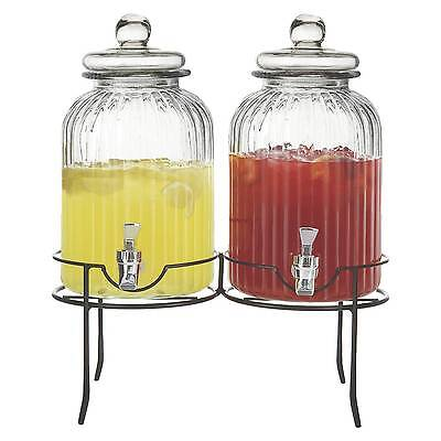 Springfield Beverage Dispenser Set of 2 - Clear