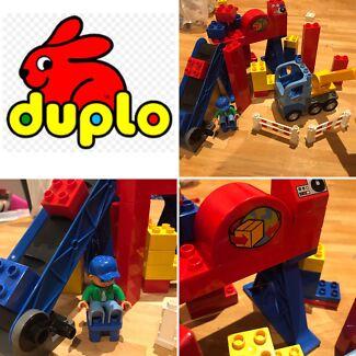 Duplo Lego - Building Yard Set