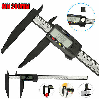 8200mm Electronic Digital Vernier Caliper Gauge Micrometer Lcd Ruler Meter Tool