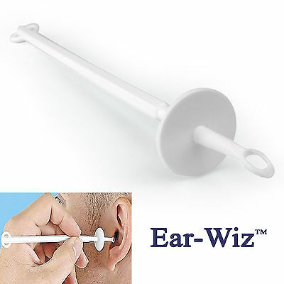 EAR-WIZ EAR WAX REMOVER, Removal Tool With Soft Tip & Safety Stop - FREE UK P&P!