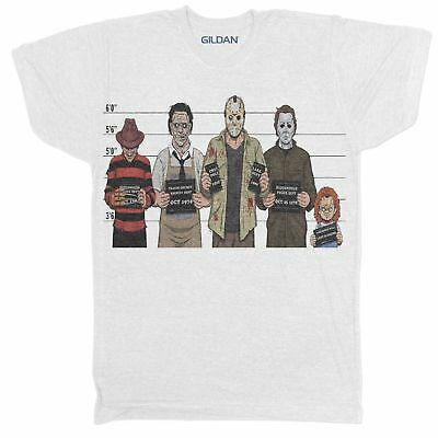 Usual Suspects Horror Movie Film Retro 90S Childs play Chucky Halloween T Shirt](90s Kids Halloween Movies)