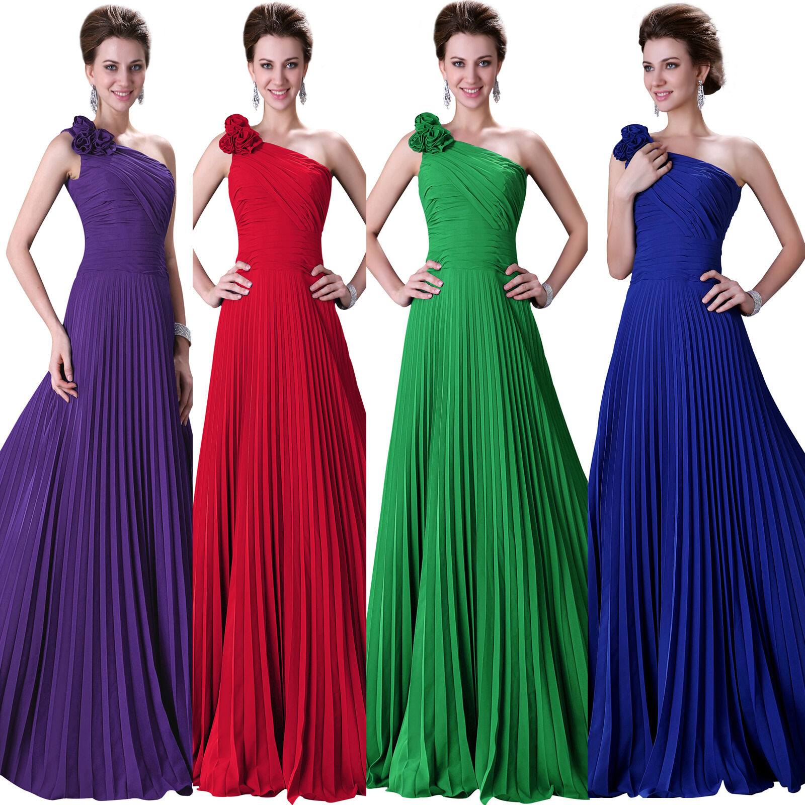 IN-STOCK-Sexy-Long-Chiffon-Evening-Formal-Party-Ball-Gown-Prom-Bridesmaid-Dress