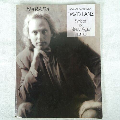 Narada David Lanz New Age Piano Solos Sheet Music Book 13 Solos
