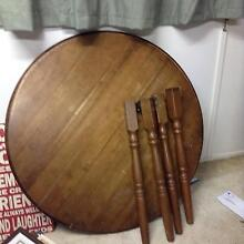 Vintage dark wood dining table Scarborough Redcliffe Area Preview