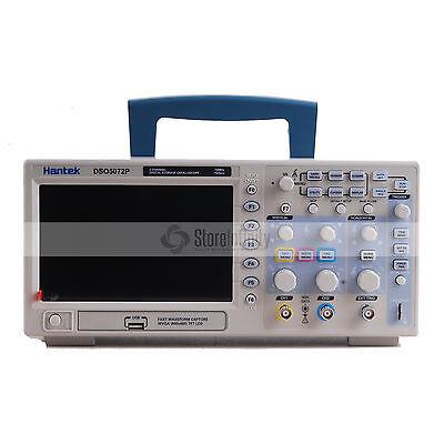 Hanek DSO5072P Digital Oszilloskope 70MHz 2CH 1GS/s 7'' TFT LCD USB Oscilloscope