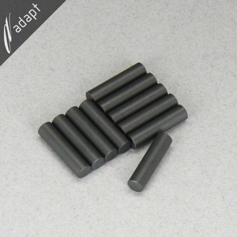 "10 ea Ferrite Rod Core 0.25x1.00""  Fair-Rite 4077276011 2000u Perm Plain Slug 77"