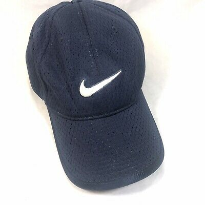 8d9f5845 Nike Dri-Fit Hat Cap Embroidered White Swoosh on Front Just Do It & Logo on  Back