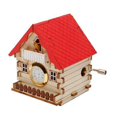 Orgel Germany House WOODEN MODEL KIT Music Box Orgel