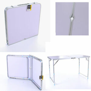 Aluminum portable camping folding table picnic bbq party - Table a picnic a vendre ...