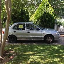1998 Hyundai Excel Sedan Benalla Benalla Area Preview