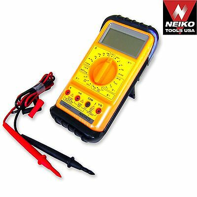 Neiko 40509a - Handheld Pocket Acdc Digital Multi Meter Tester Extra Large Lcd