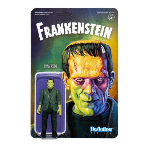 frankenstein reaction action figure horror
