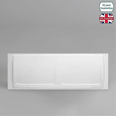 CAVALIER BATHROOM HIGH GLOSS WHITE ACRYLIC FRONT BATH PANEL 530mm x 1700mm