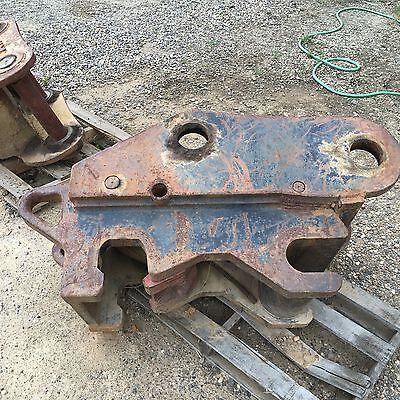 John Deere 450d Lc Quick Attach Attachment Mining Construction