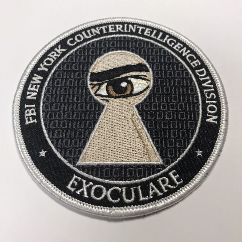 FBI New York Counterintelligence Exoculare - Police Patch Feds