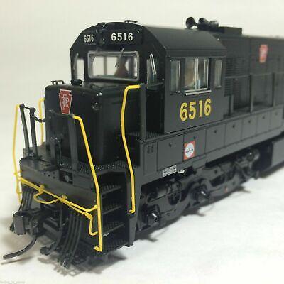 Korea Brass HO 1/87 Scale GE U25C U252020 PRR #6516 DC only Detailed Model Train