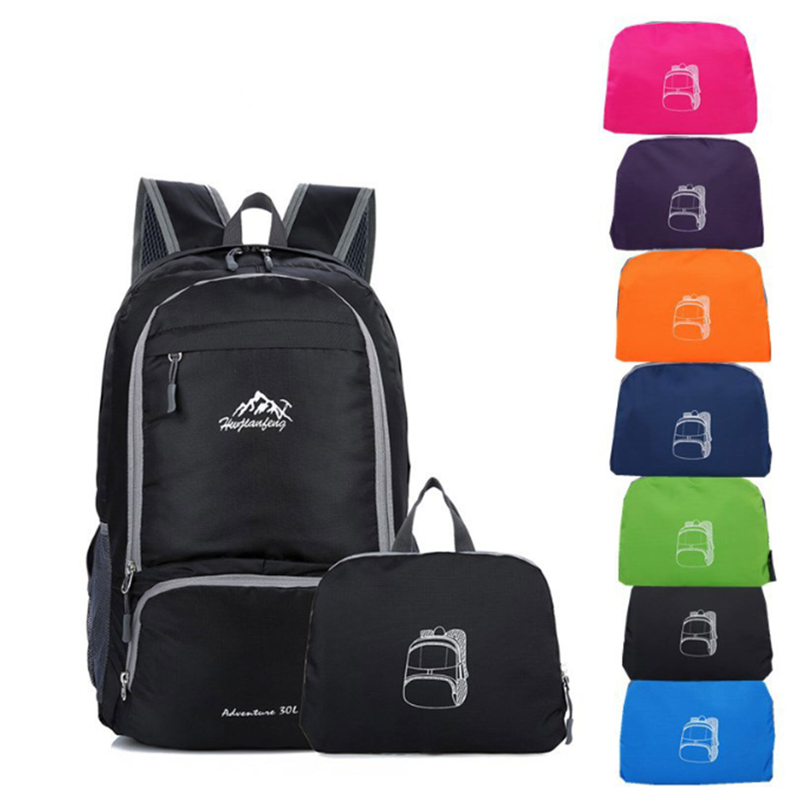 35L Waterproof Sports Backpack Rucksack Bag Outdoor For Travel Hiking Camping