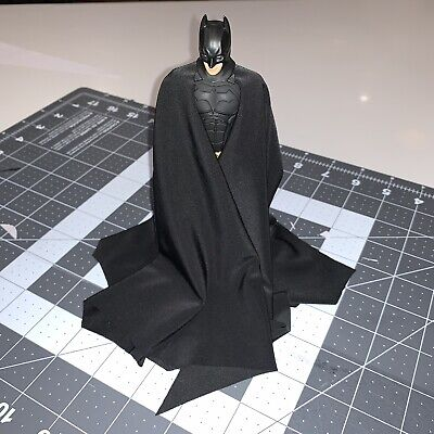 Custom Full Drape Cape For MAFEX Batman Begins Action Figure (Cape Only)