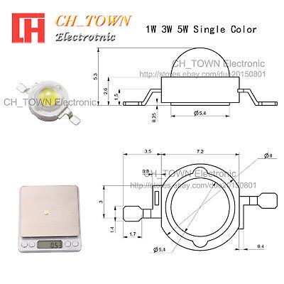High Power 1W 3W 5W 10W 20W 30W 50W 100W White SMD LED COB Chip Lights Beads