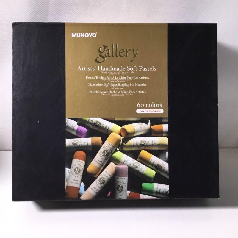Mungyo Gallery Handmade Soft Pastel Set of 60 - Portrait Colors.   R45