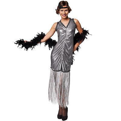 20er Jahre Kleid Kostüm (Frauenkostüm Charleston Broadway 20er Jahre Kleid Karneval Fasching Halloween)