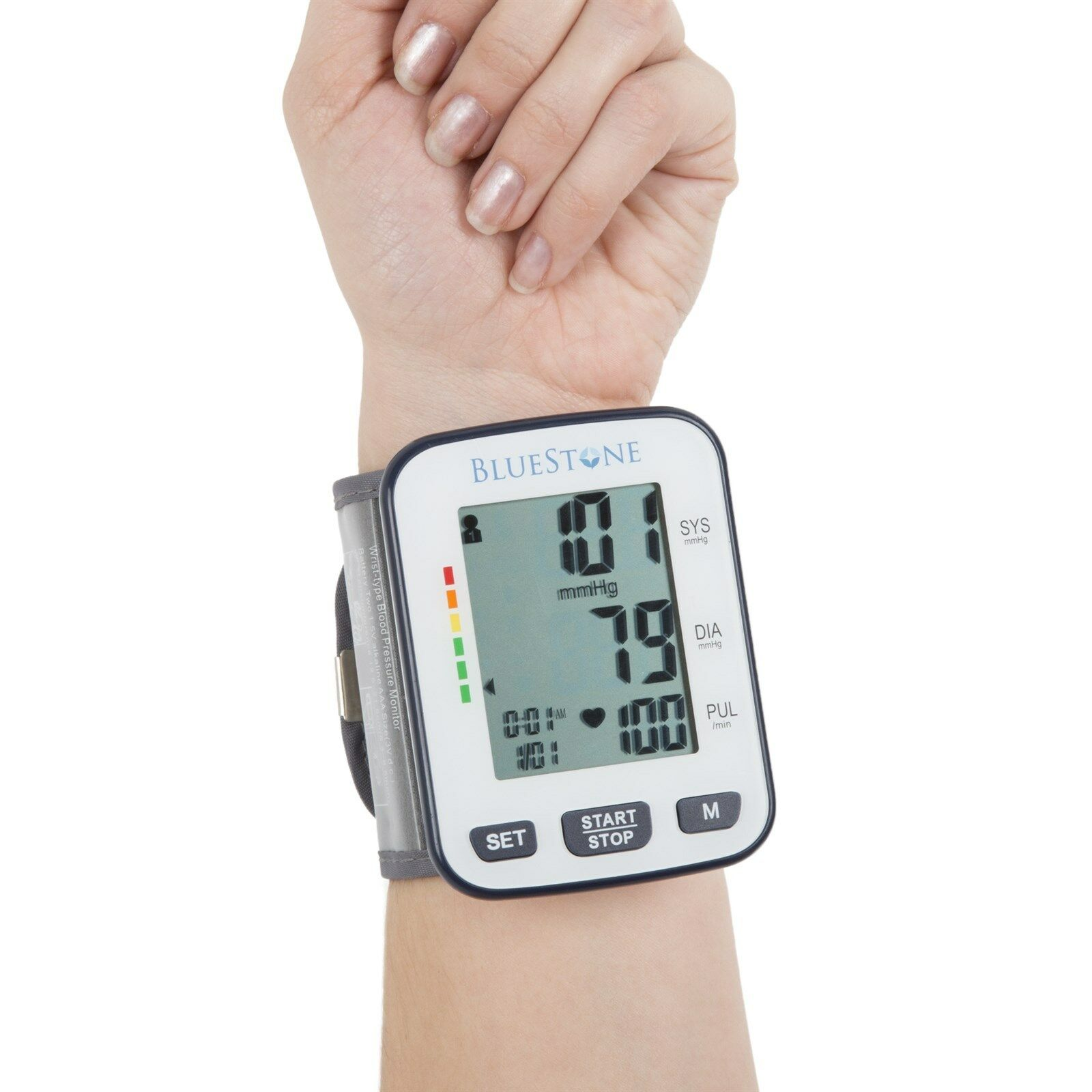 Купить Bluestone - Bluestone Automatic One Touch Blood Pressure and Pulse Monitor
