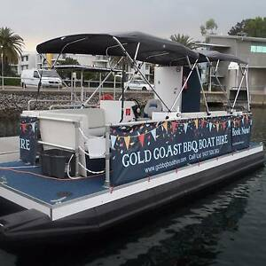 GOLD COAST BBQ BOAT HIRE Hope Island Gold Coast North Preview