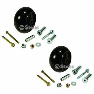2 DECK WHEEL KITS JOHN DEERE AM133602 AM116299 M111489