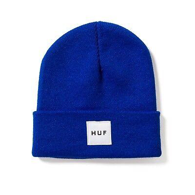 1ed5370e HUF BOX LOGO BEANIE ROYAL BLUE