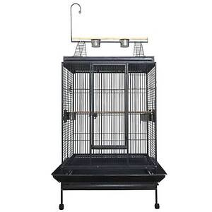 Jan sale 3mm brid cage with stand and toy hanger Riverwood Canterbury Area Preview