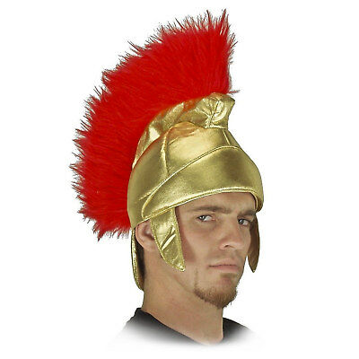 Adult Men's Roman Soldier Trojan USC Warrior Fuzzy Plush Halloween Costume Hat](Usc Halloween Costumes)