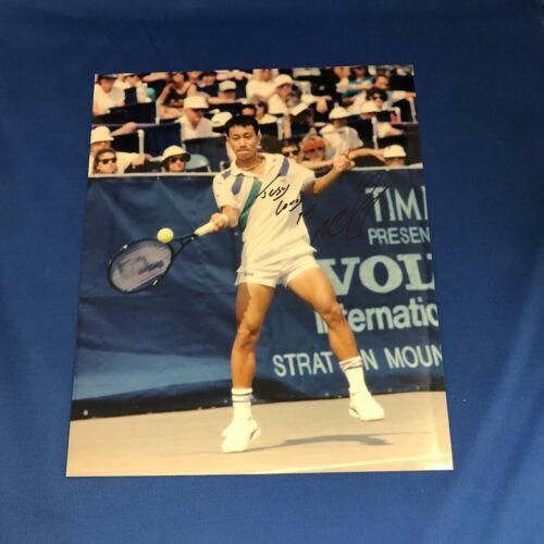 Michael Chang Hand Signed 8x10 Photo Tennis Champion