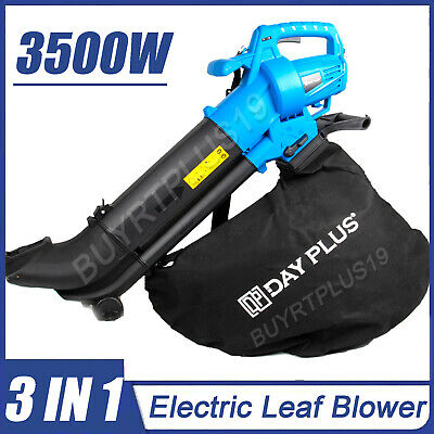 3500W Powerful Electric Leaf Blower Dust Vacuum 3-in-1 Cleaning Tool DT2270I