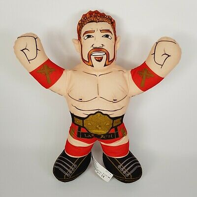 "2012 WWE Champions Brawlin' Buddies Sheamus Talking Plush Toy 16"""