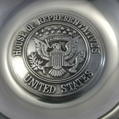 Historic House of Representatives Candy Dish Wilton Armetale Co  RPW Pewter