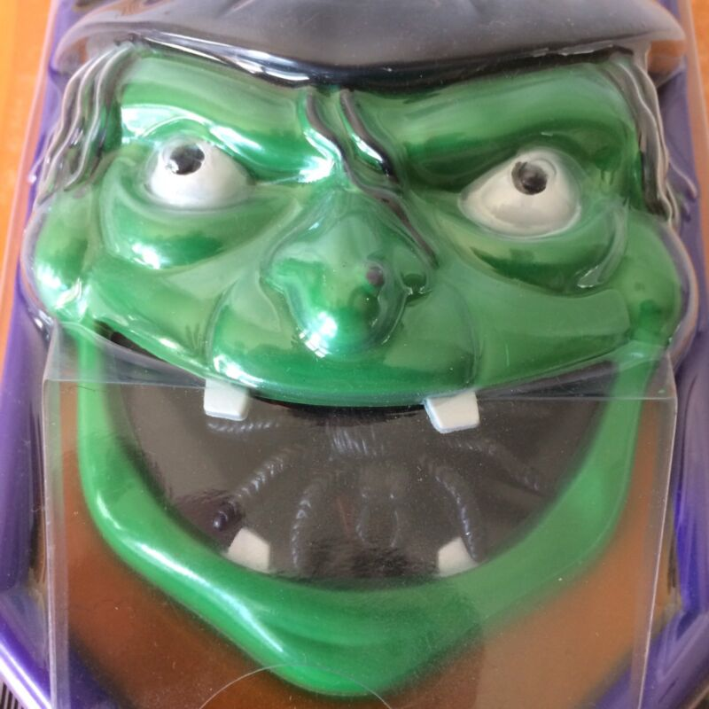 Halloween Green Witch Spooky Doorbell Spooky Voice Sound Effects Light Up Eyes