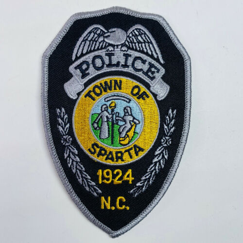 Sparta Police North Carolina Patch (A2)