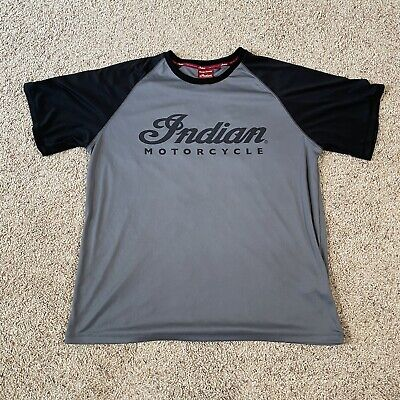 Official Indian Motorcycles Shirt Mens (XL) Polyester