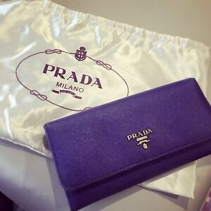 Prada wallet! Purple color for sell Sandringham Bayside Area Preview