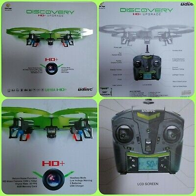 Discovery HD Upgrade Drone Kit Complete U818A-1--Green