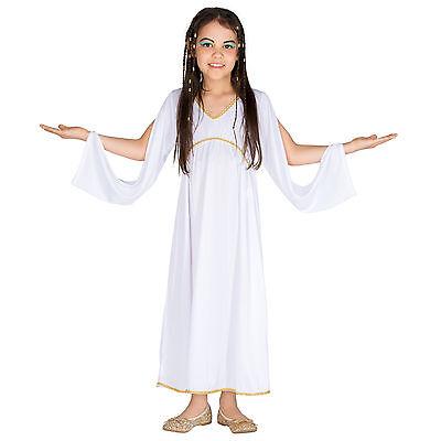 Mädchenkostüm griechische Prinzessin Göttin Antike Toga Karneval Kleid - Griechische Prinzessin Kostüm