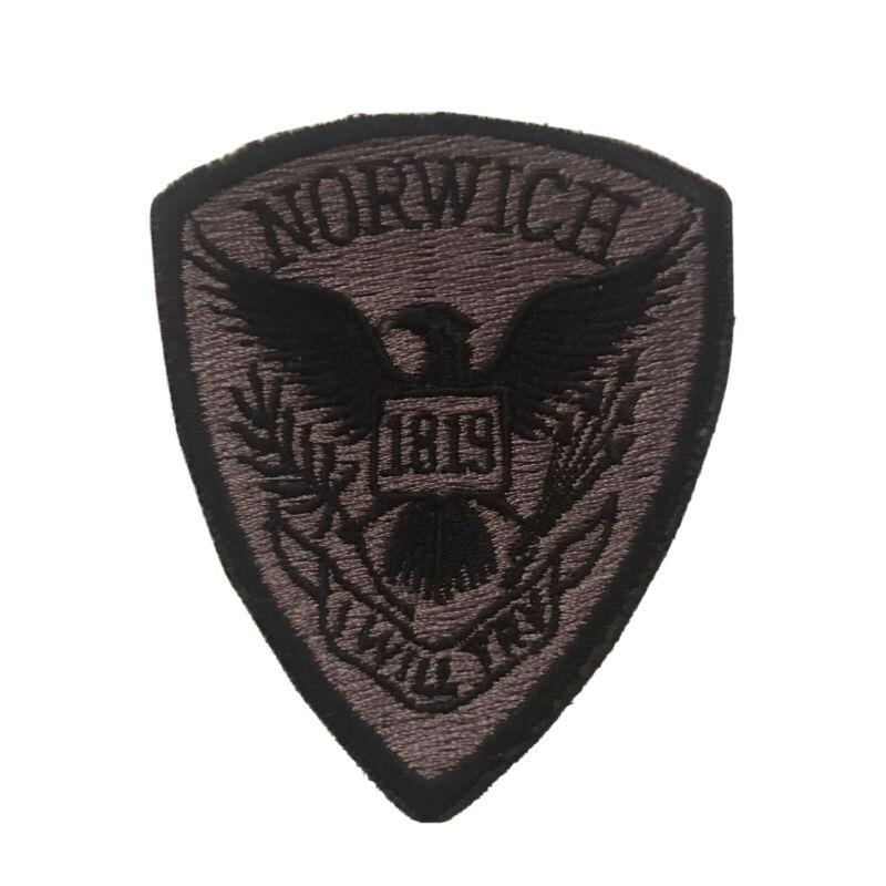 Vintage Norwich Vermont Police Dept Subdued SWAT Shoulder Patch
